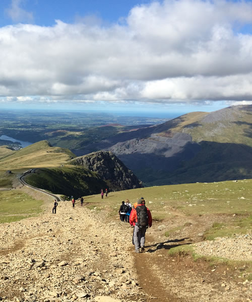 Climb Snowdon - Summit Routes