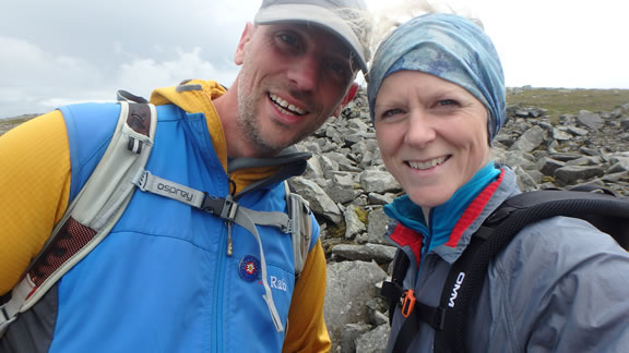 Climb Snowdon - Kate and Ross Worthington